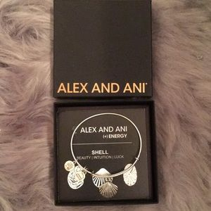 Alex And Ani Silver Sea Shell